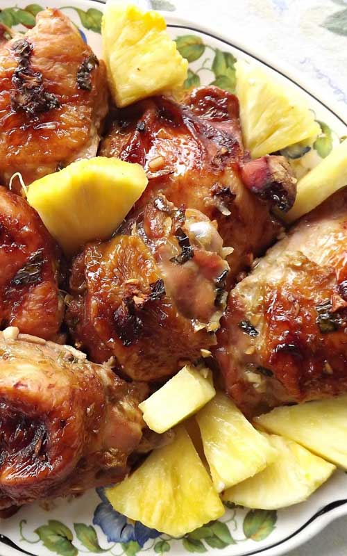 Recipe for Hawaiian Chicken - Looking to chase away those winter blues? This super healthy, and flavorful dish may be just the thing to do that!