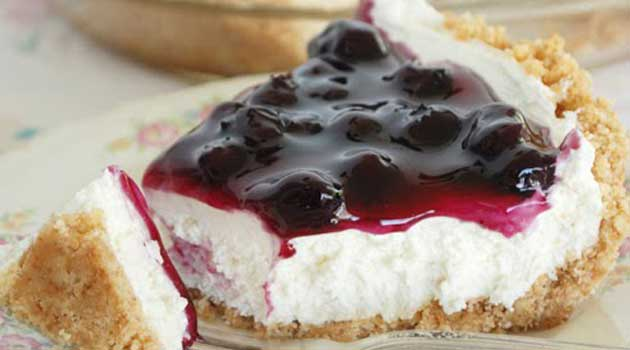 No Bake Blueberry Cheesecake Recipe Flavorite