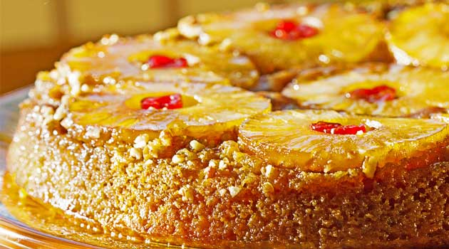 Pineapple Upside Down Cake Recipe Flavorite