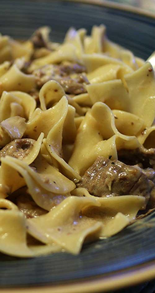 Easy & Delicious Beef Stroganoff