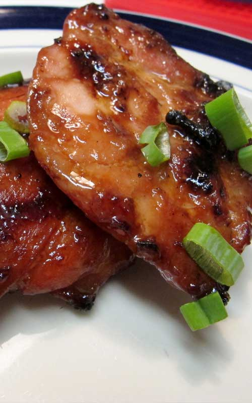 Recipe for Hawaiian BBQ Chicken - My go-to BBQ chicken recipe. This doesn't use any sticky storebought sauce, just a simple Hawaiian-style marinade.