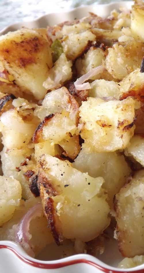 Fried Potatoes with Jalapenos