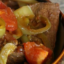 Flavors of ginger and soy sauce blend perfectly when making this Slow Cooker Pepper Steak, a delicious beef dinner.