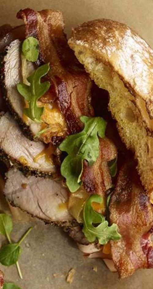 Porkinator Sandwiches