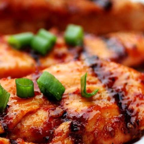 Recipe forSpice Rubbed Grilled Chicken - The BEST Grilled Chicken Recipe you'll ever have! Full of flavor from an easy spice rub, moist, and done in less than 20 minutes!