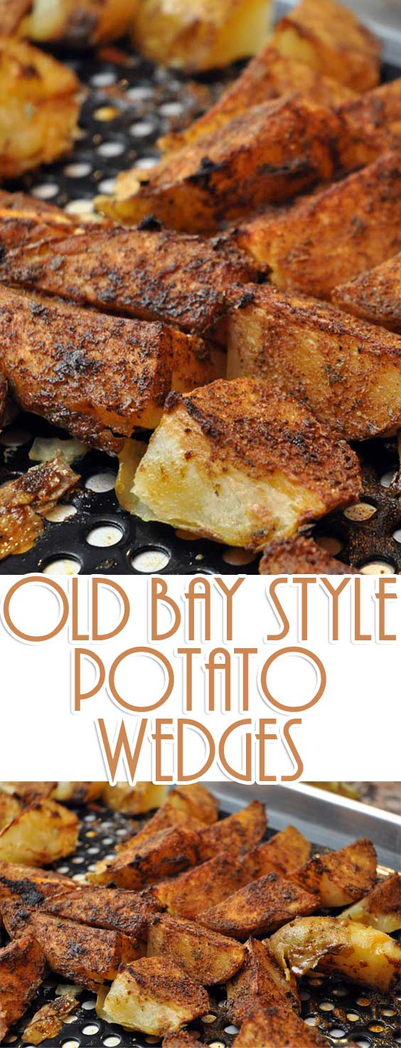 Old Bay Style Potato Wedges