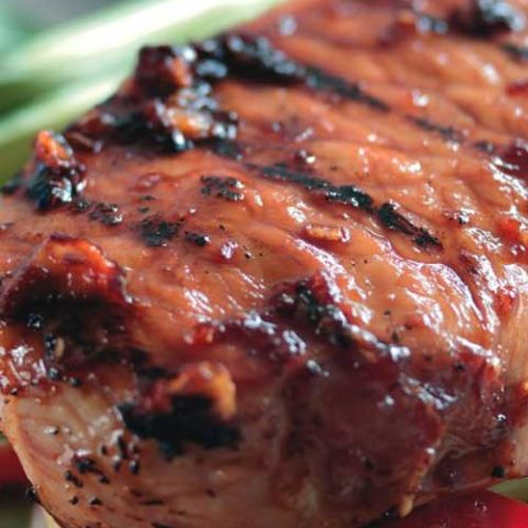Recipe forTeriyaki Pork Steaks with an Asian Noodle Salad - This is a fast, simple, and easy recipe for mouth watering teriyaki pork steaks with an Asian noodle salad. Perfect for when you need to throw something together on a weeknight.