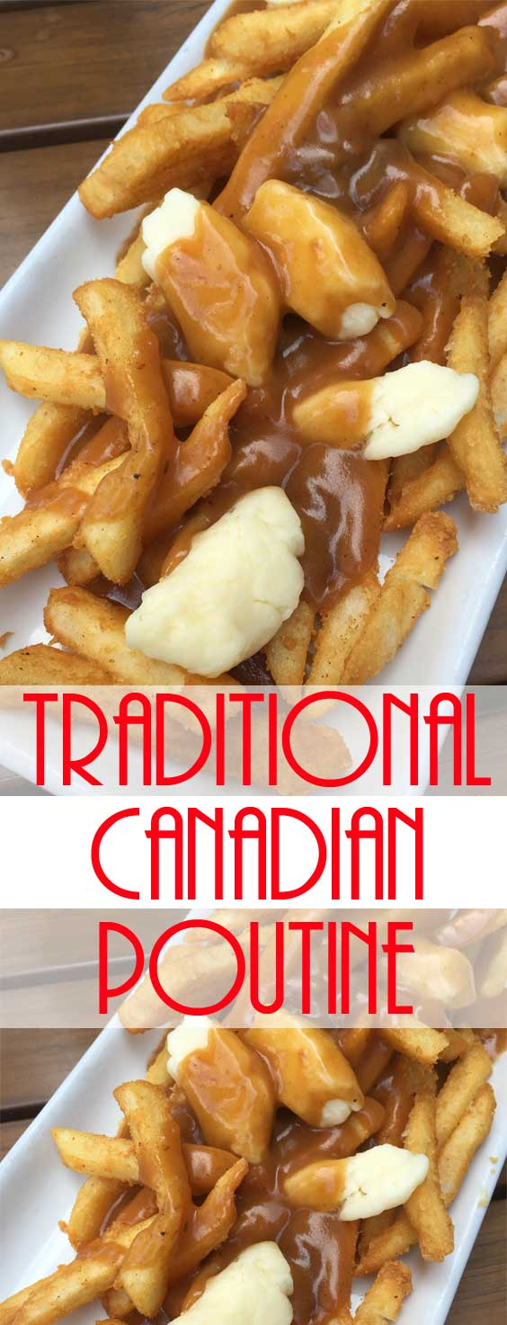 Traditional Canadian Poutine