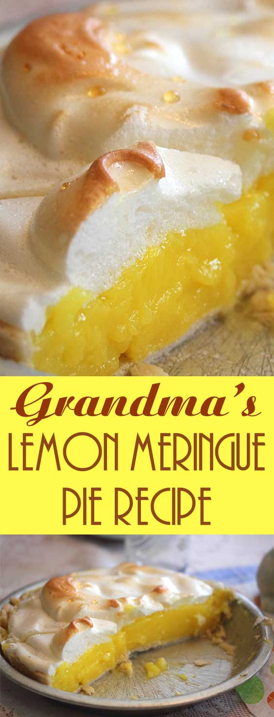 Grandma\'s Lemon Meringue Pie