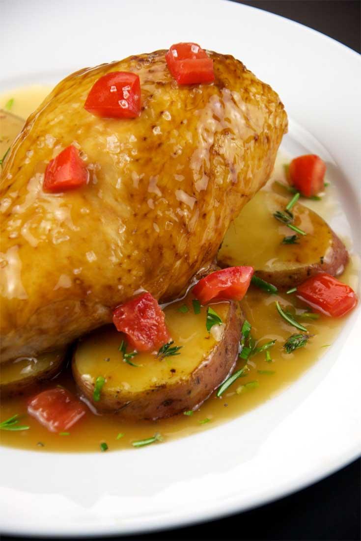 One Pot Chicken Vesuvio