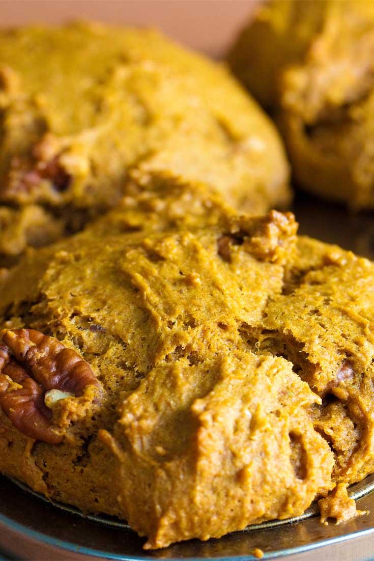 Vegan Pumpkin Spice Muffins