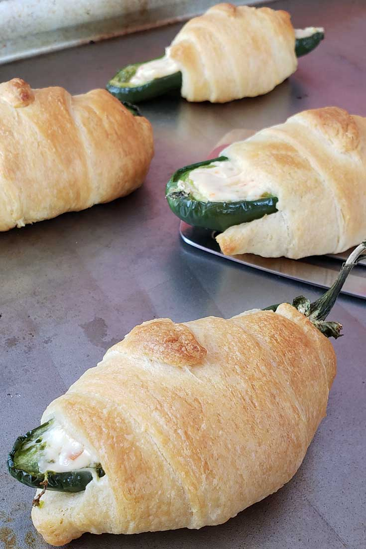 Easy Crescent Jalapeno Poppers