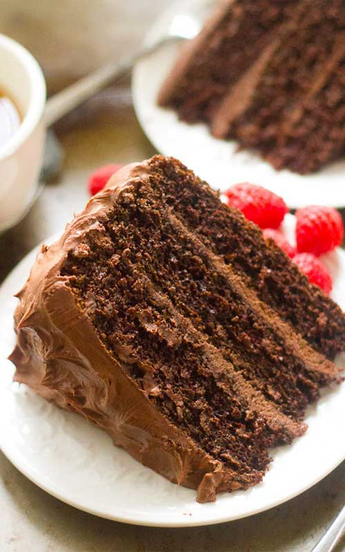 Chocolate Mocha Layer Cake