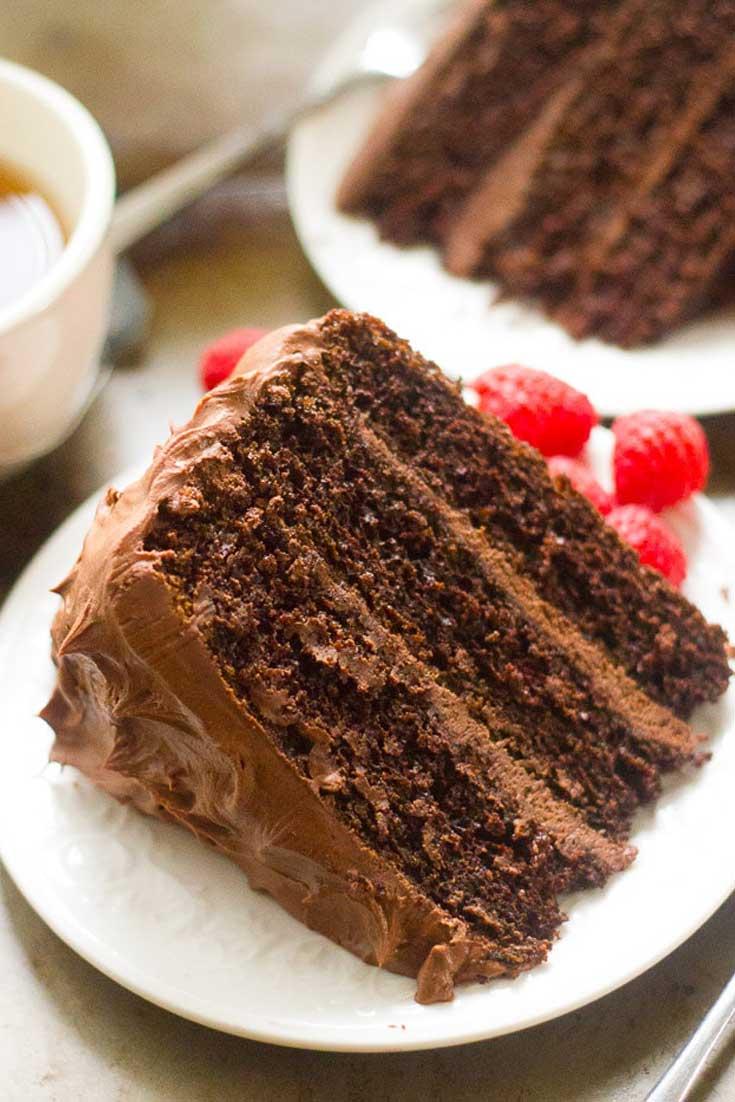 Chocolate Mocha Layer Cake