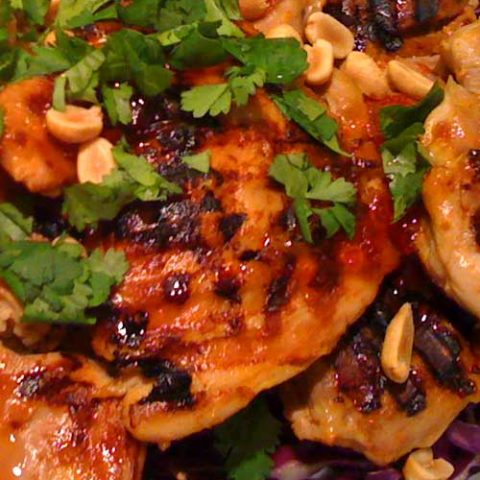 Spicy, tangy, with the right amount of sweet. This tender Thai-Spicy Tangy Chicken recipe is your ultimate dinner dream come true.