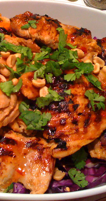 Thai-Spicy Tangy Chicken