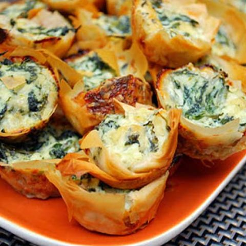 Spanakopita Bites – Greek Spinach Pie Bites