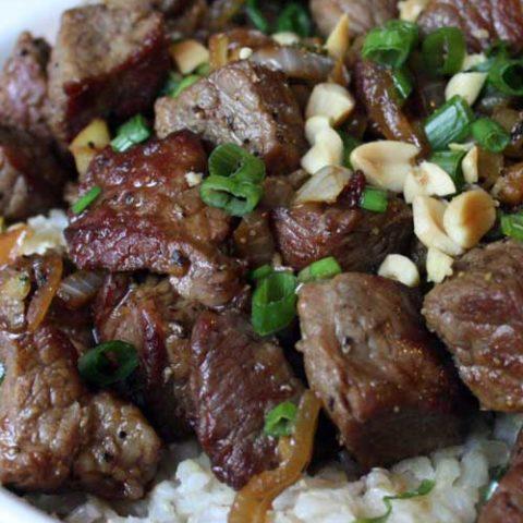 Vietnamese-Style Garlic Beef
